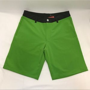 The North Face Mens Morphious Hybrid Shorts Green